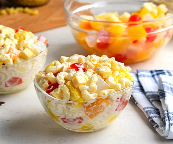 Fruit and Macaroni Salad