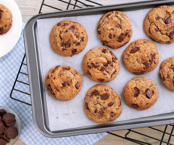 Creamy Rich Chocolate Chip Cookies