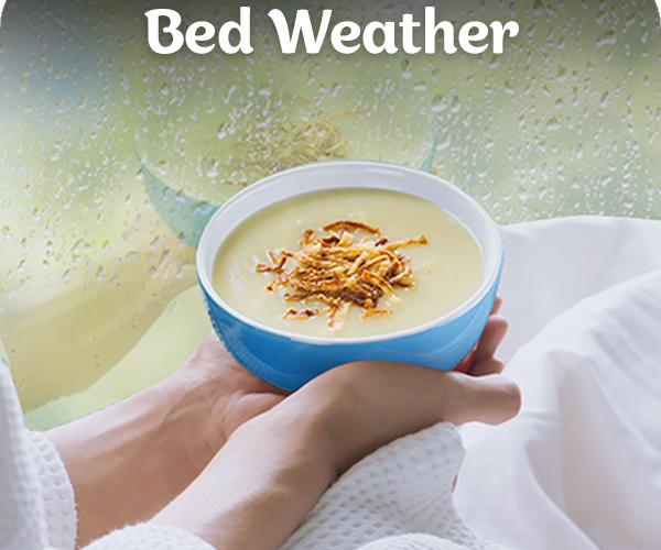 comfort food recipes for bed weather