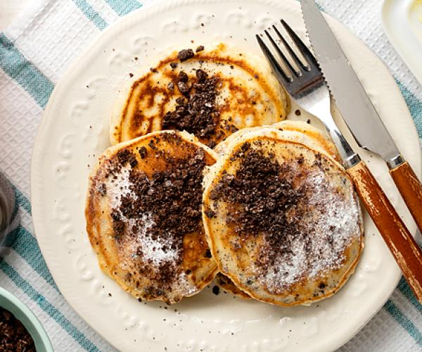 Cookies and Cream Pancake