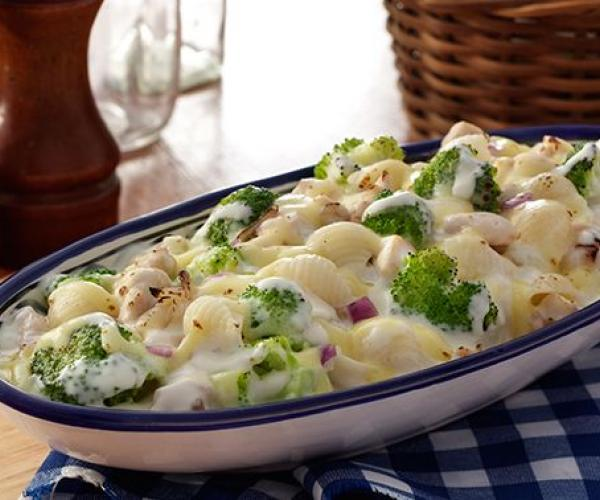 Oh So Creamy Baked Chicken and Broccoli
