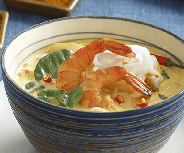creamy curried seafood soup recipe