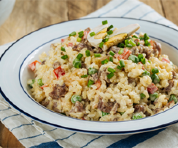 creamy pinoy fried rice with vegetables recipe