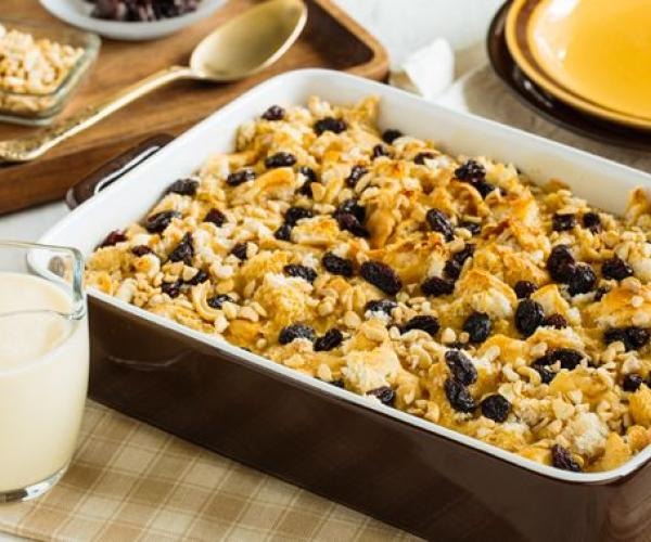 Extra Loving One-Bowl Bread Pudding