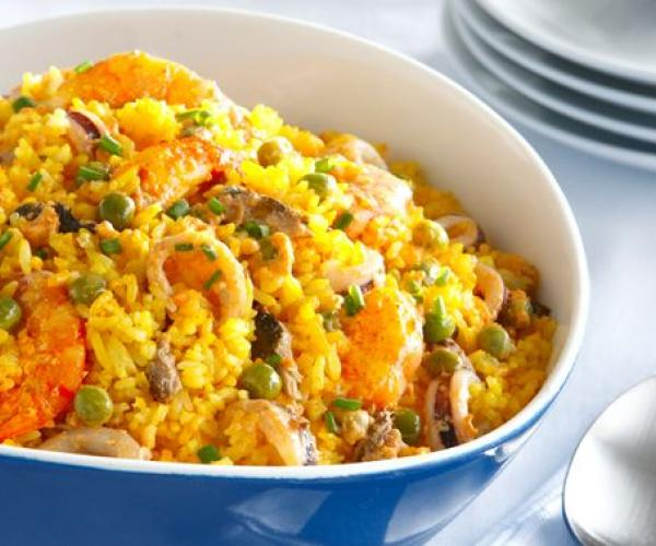 Sea-riously Delish Seafood Rice Ala Paella